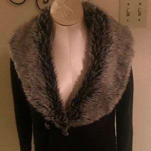 Romeo & Juliet Couture sweater coat large